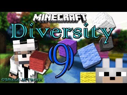 Minecraft Mini-Game: Diversity! [Multi-Genre] PART 9 SURVIVAL!! 1 HOUR LONG!