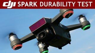 I Tried To Destroy A DJI Spark |Extreme Durability Test 😱