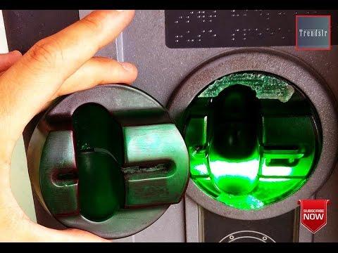 ATM Skimmer In Vienna of Austria 2016
