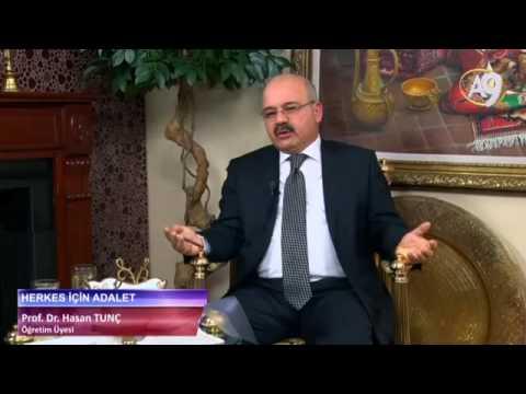 Herkes için Adalet - 12 - Prof. Dr. Hasan Tunç, Öğretim Üyesi