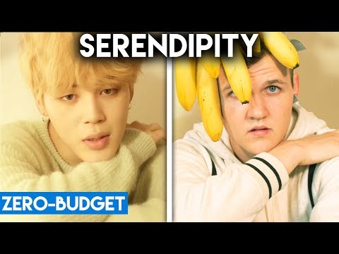 K-POP WITH ZERO BUDGET! (BTS- 'SERENDIPITY')