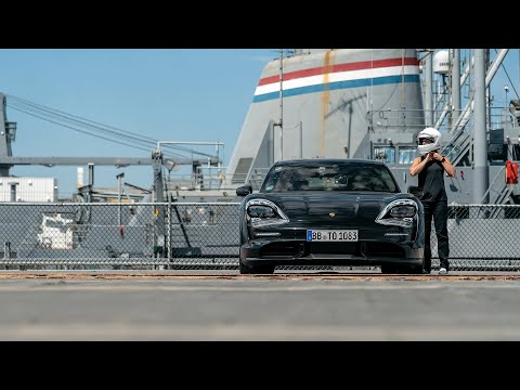 the-fully-electric-porsche-taycan-accelerates-0-90-0-mph-on-the-uss-hornet