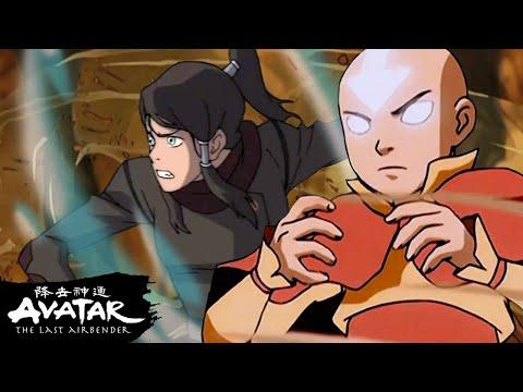 Aang, Korra, & Zaheer's Best Airbending Moments! 🌪| Avatar