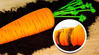 GIANT Carrot Made Of Cake! | Easter Quarantine Baking | How To Cake It Step By Step