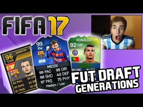 FIFA 17 NUEVO MODO DE JUEGO ??? FUT DRAFT GENERATIONS - FIFA 16 FUT