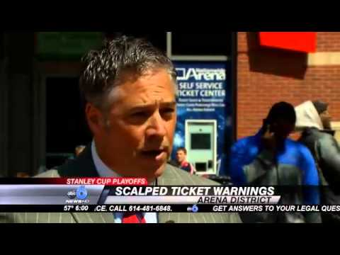 CBJ Playoffs: 'Buyer Beware' Picking Up Tickets from Scalpers
