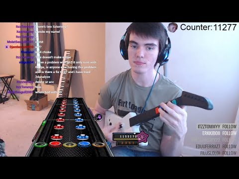 Thumbnail: Pro Guitar Hero Player Makes Rookie Mistake