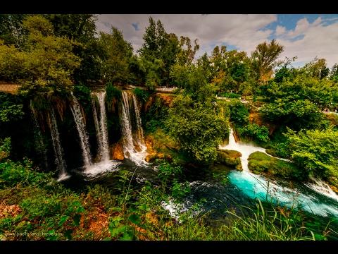 Интересные экскурсии в Анталии. Парк и водопад Верхний Дюден