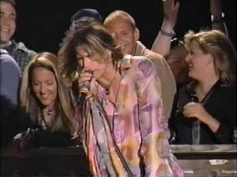 AEROSMITH NINE LIVES PREMIERE MTV Spring Break 16 MARCH 1997 FL - USA