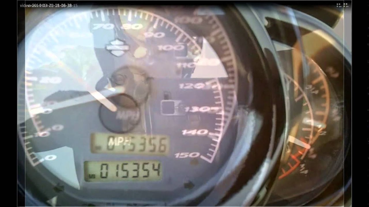 Harley Fuel Gage Problems Youtube 2000 Davidson Road King Fuse Box