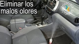 Eliminar malos olores del coche (Bricocrack)