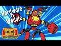 Ready2Robot | Slime Robot Battles | Episode 1: Hardware vs. Wedgie | Cartoon Webisode for Kids