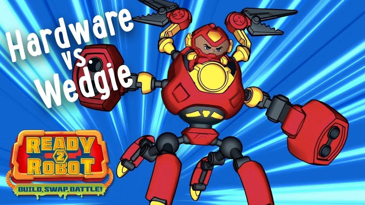 Ready2robot Slime Robot Battles Episode 1 Hardware Vs
