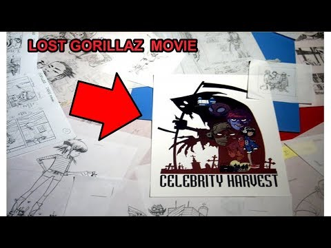 Cancelled Gorillaz Movie