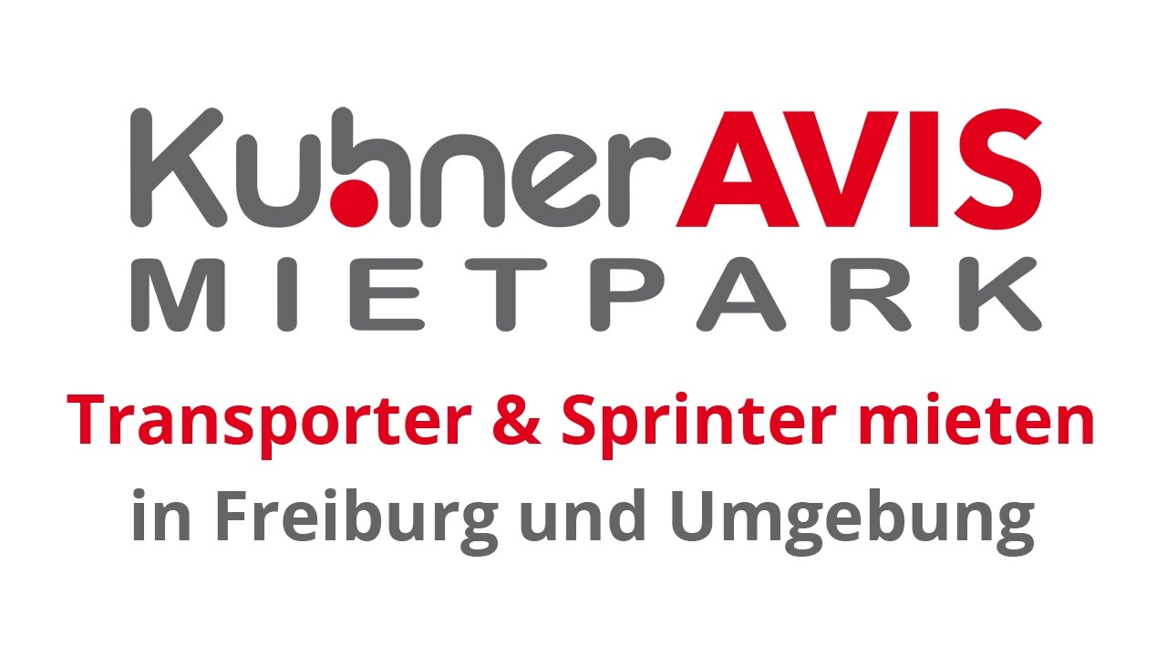 car hire sprinter in freiburg car rental kuhner avis rental car youtube. Black Bedroom Furniture Sets. Home Design Ideas