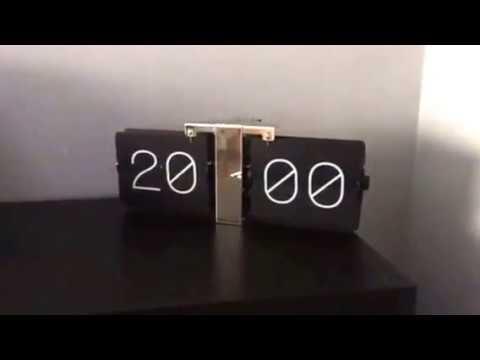 Karlsson Flip Klok : Karlsson flip clock youtube