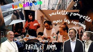 RACLETTE & 3 INFLUENCEUSES À PARIS / WEEKLY VLOG 22