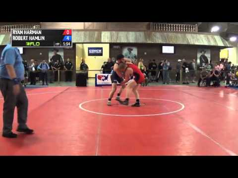 86 kg CR3 - Ryan Harman (Navy Marine Corps) vs Robert Hamlin (LVAC)