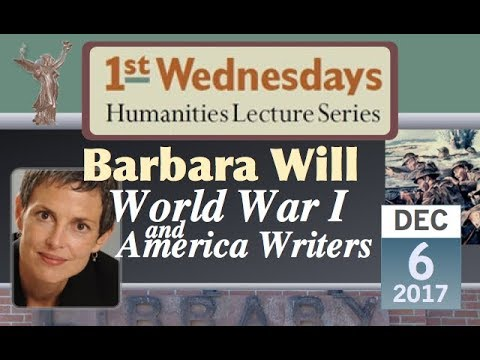 1st Wednesdays: World War I and American Writers