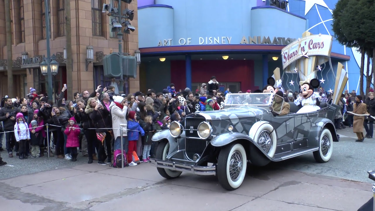 Travel Disneyland Paris Car