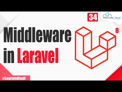 What is Middleware? | Global, Route & Groups Middleware | Laravel 8 Tutorial for Beginners #34