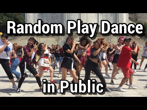 Random Play Dance KPOP In Public 2019 (France, Avignon)