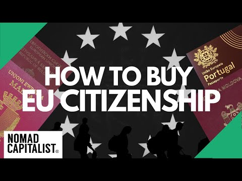 How To Buy EU Citizenship