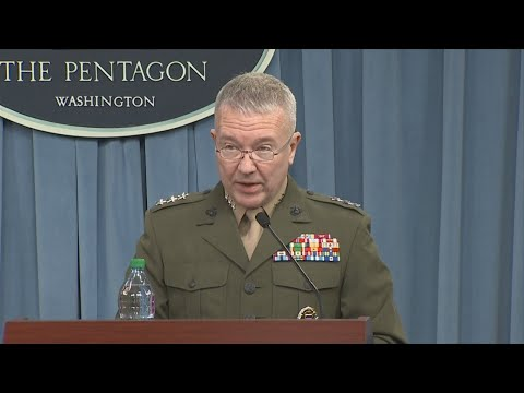 Pentagon Provides Update On Airstrikes In Syria