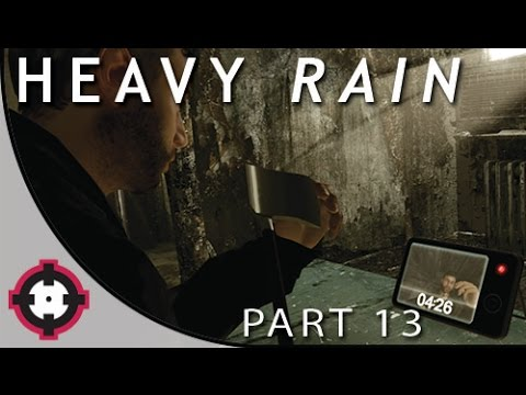 "Heavy Rain Blind Let's Play Gameplay PS4 // Part 13 - Trial #3 ""Sacrifice"" (w/ a Special Guest!)"