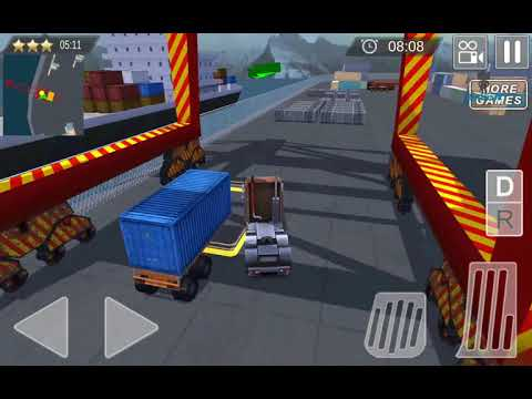 Cargo Ship Truck & Crane Sim E04 Android GamePlayHD