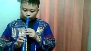 Lupang Hinirang Flute by Louie Lubi