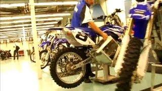 Yamaha motocross factory tour
