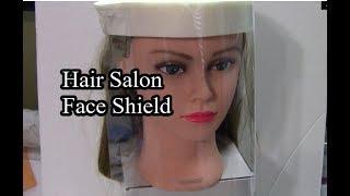 Hair Salon Face Shield - Chris…