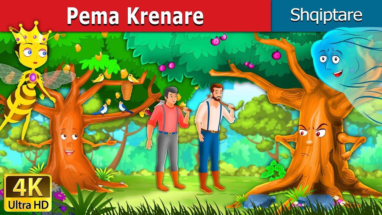 Pema Krenare The Proud Tree Story In Albanian Perralla Per