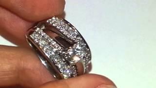 14kt 1 00 tcw diamond solitaire enhancer wrap ring guard