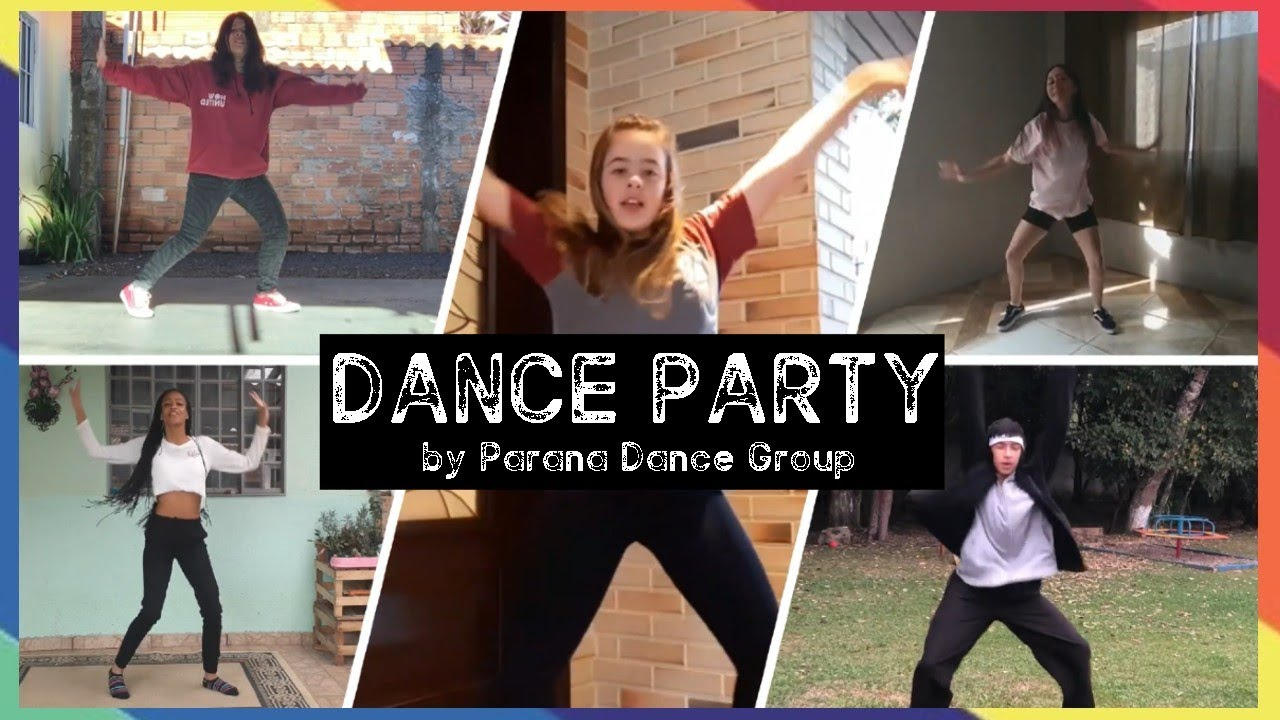 Dance Party With Now United - #Stayhome (By Paraná Dance Group)