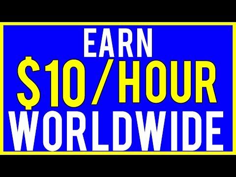 Make Money Online - Earn $10 Per Hour (Available Worldwide!)