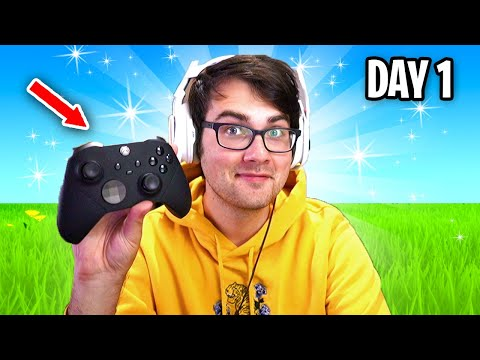 I'm Switching To Controller On Fortnite... (Day 1)