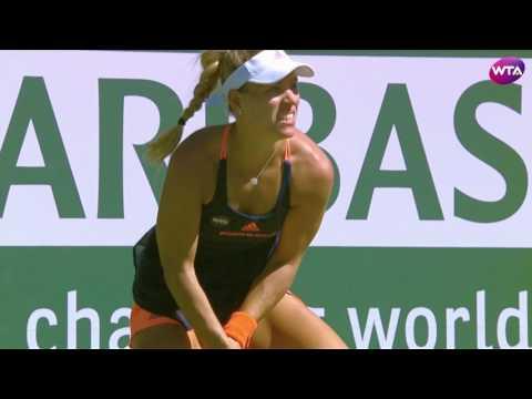 My Performance | Angelique Kerber Defeats Parmentier | 2017 BNP Paribas Open Third Round