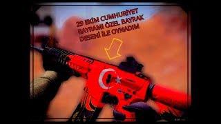 29 EKİM CUMHURİYET BAYRAMINIZ KUTLU OLSUN!!#ZULA#BÖLÜM 3#M468 BAYRAK DESENİ İLE OYNADIM