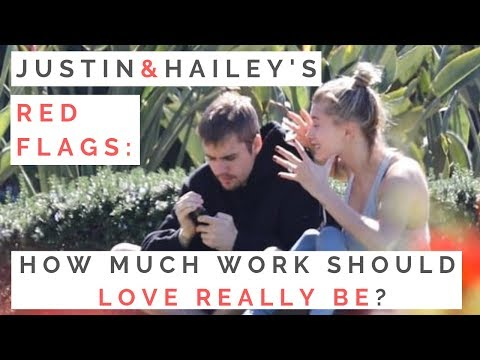 RED FLAGS FROM JUSTIN & HAILEY: How Much Work Should A Relationship Really Be & When To Break Up. http://bit.ly/2QZBZJB