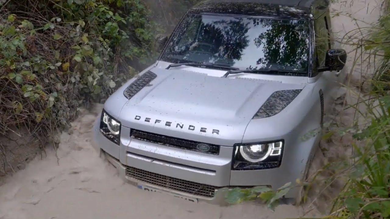 2021 Land Rover Defender - Challenge Offroad - YouTube