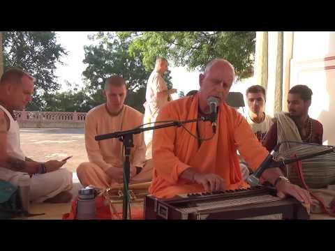 Kirtan Indradyumna Swami. Kanak Vrindavan. Jaipur 17-10-2017