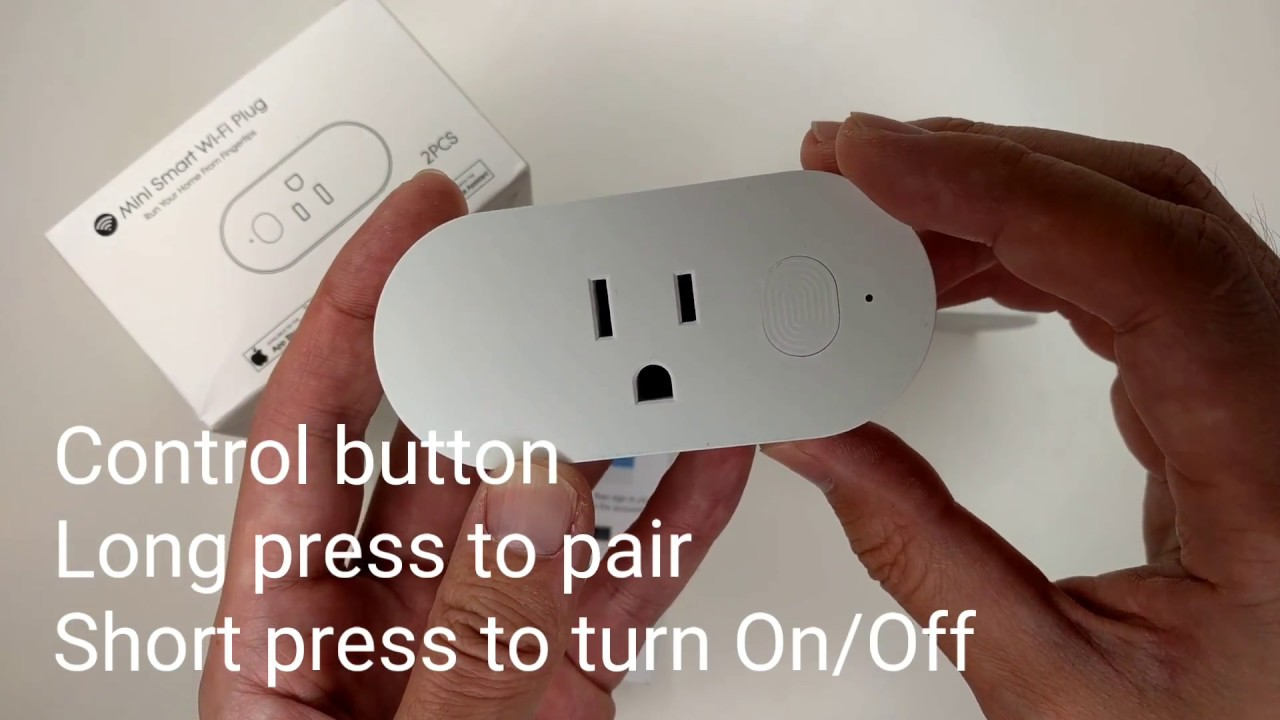 Mini Wifi Plug Smart Socket Work with Alexa, Google ...