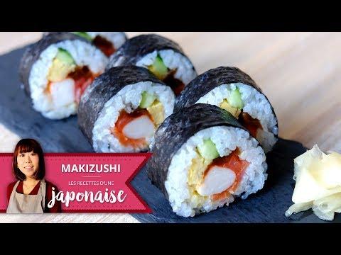 Comment faire des Makis | Les Recettes d'une Japonaise | Recette Maki Sushi