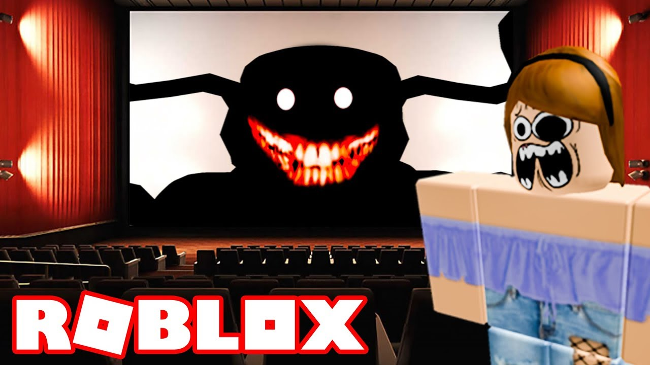 This Roblox Cinema Is Cursed Youtube