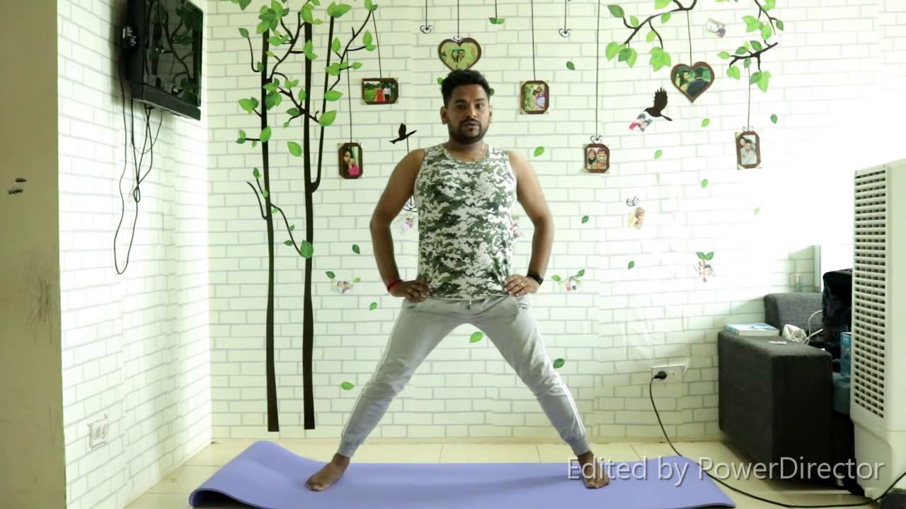 Garudasana For Knock Knees