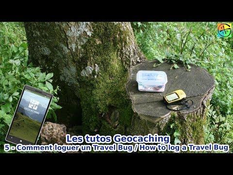 Les tutos Geocaching 5 - Comment loguer un Travel Bug - YouTube