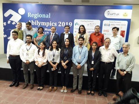 Sarthak NAAI - West Zone Regional Abilympics Competitions For PwD's
