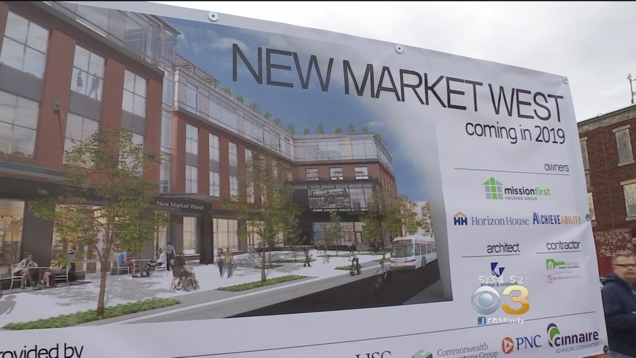 Ground Breaks On Massive Community Services And Retail Hub In West Philly